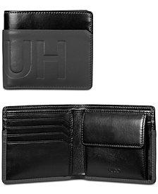 Hugo Boss Men's Hero Leather Coin-Pocket Wallet