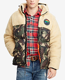 Polo Ralph Lauren Men's Great Outdoors Paneled Down Coat