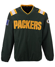 G-III Sports Men's Green Bay Packers Countback Pullover Jacket