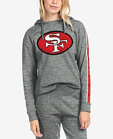 Authentic NFL Apparel Women's San Francisco 49ers Liberty Fleece Hoodie