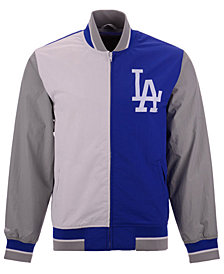 Mitchell & Ness Men's Los Angeles Dodgers Team History Warm Up Jacket 2.0