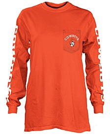 Women's Oklahoma State Cowboys Long Sleeve Pocket T-Shirt