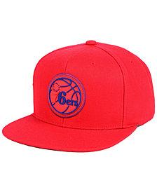 Mitchell & Ness Philadelphia 76ers Zig Zag Snapback Cap
