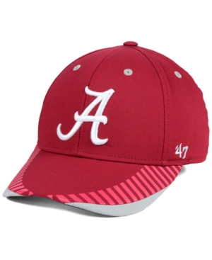 '47 Brand Alabama Crimson Tide Temper Contender Flex Cap Men Activewear - Sports Fan Shop By Lids