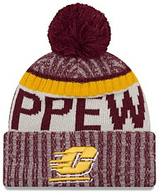 New Era Central Michigan Chippewas Sport Knit Hat