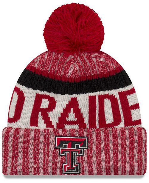 on sale cbe6b a6de3 ... norway texas tech red raiders sport knit hat 83591 3890b