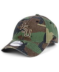 Florida State Seminoles Woodland Classic Twill 9TWENTY Strapback Cap