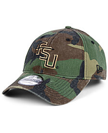 New Era Florida State Seminoles Woodland Classic Twill 9TWENTY Strapback Cap