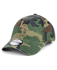 New Era LSU Tigers Woodland Classic Twill 9TWENTY Strapback Cap