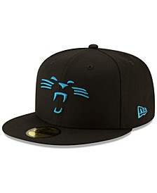 Carolina Panthers Logo Elements Collection 59FIFTY FITTED Cap