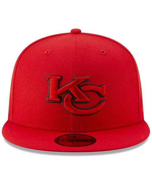 845fc5df590 ... New Era Kansas City Chiefs Logo Elements Collection 59FIFTY FITTED Cap  ...