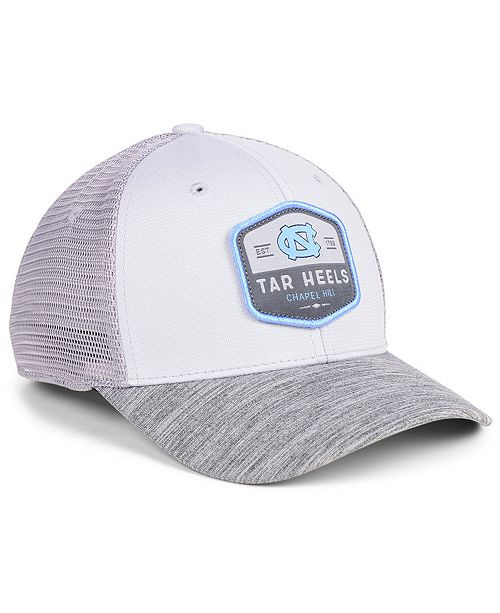buy online 677da 19f7b ... Top of the World North Carolina Tar Heels Hyjak Mesh Flex Stretch  Fitted Cap ...