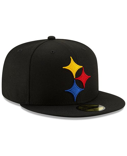 ... New Era Pittsburgh Steelers Logo Elements Collection 59FIFTY FITTED Cap  ... 0ab219b191d