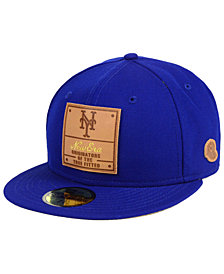 New Era New York Mets Vintage Team Color 59FIFTY Fitted Cap