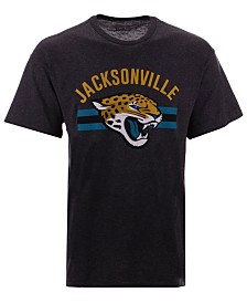 Authentic NFL Apparel Men's Jacksonville Jaguars Checkdown T-Shirt