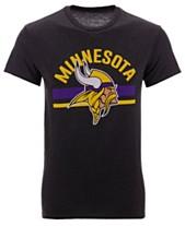 Authentic NFL Apparel Men s Minnesota Vikings Checkdown T-Shirt f4ca8c341