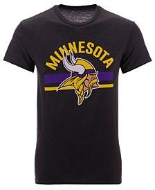 Authentic NFL Apparel Men's Minnesota Vikings Checkdown T-Shirt