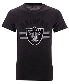 Authentic NFL Apparel Men's Oakland Raiders Checkdown T-Shirt