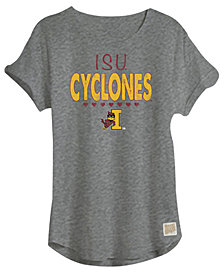 Retro Brand Iowa State Cyclones Girls Rolled Sleeve T-Shirt, Girls (4-16)
