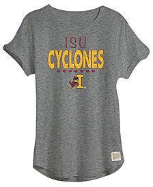 Retro Brand Iowa State Cyclones Girls Rolled Sleeve T-Shirt, Girls (4-16)