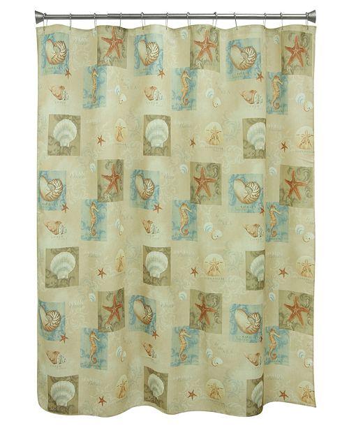 Bacova Multi Ocean Shower Curtain