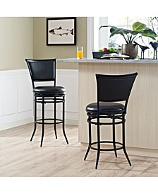 Rachel Swivel Bar Stool With Cushion