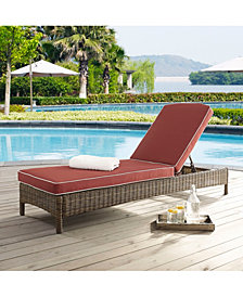 Bradenton Chaise Lounge With Cushions