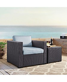 Biscayne Armchair With Cushions