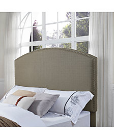Cassie Curved Upholstered King And Cal King Headboard