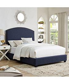 Cassie Curved Upholstered King Bedset