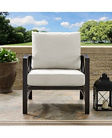 Kaplan Arm Chair With Universal Cushion Cover