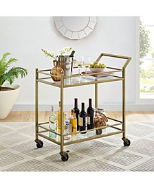 """Aimee 36"""" Bar Cart"""