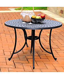 "Sedona 42"" Cast Aluminum Dining Table"