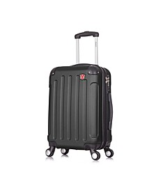 "Intely 20"" Hardside Spinner Carry-On Luggage With USB Port"