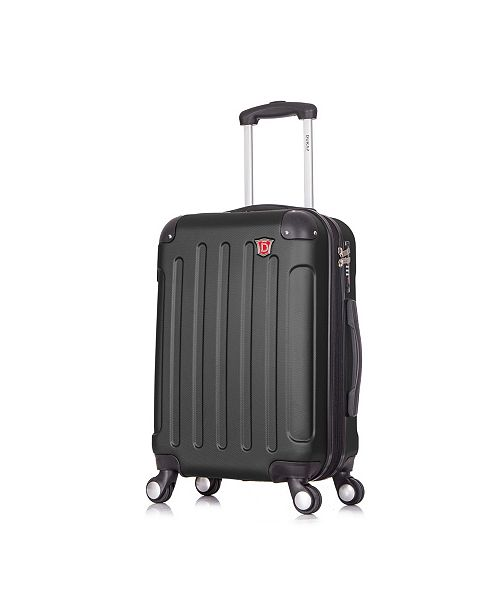 """DUKAP Intely 20"""" Hardside Spinner Carry-On Luggage With USB Port"""