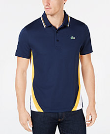 Lacoste Men's Regular-Fit Ultra Dry Colorblocked Polo
