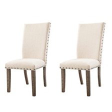 Dex Upholstered Side Chair Set