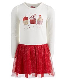Epic Threads Toddler Girls Layered-Look Cupcake Dress, Created for Macy's