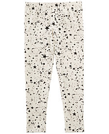 Epic Threads Little Girls Star Splatter Leggings, Created for Macy's