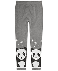 Epic Threads Big Girls Panda Sweater Leggings, Created for Macy's