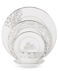 Monique Lhuillier Waterford Dinnerware, Sunday Rose Collection