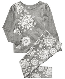 Epic Threads Toddler Girls Snowflake T-Shirt & Leggings, Created for Macy's