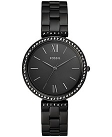 Women's Madeline Black Stainless Steel bracelet Watch 38mm
