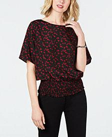 MICHAEL Michael Kors Mini Eden Rose Kimono-Style Top