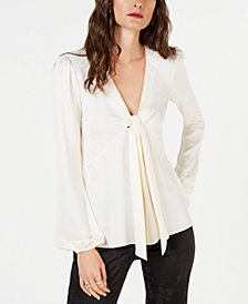MICHAEL Michael Kors Tie-Neck Top