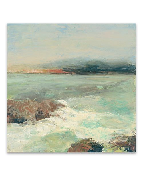 Artissimo Designs Point Lobos Crop Hand Embellished Canvas