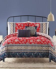 Indigo Bazaar Marbella Queen Comforter Set - 5 Piece