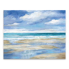 Washy Coast I Printed Canvas