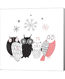 Owl IV By Graphinc Canvas Art