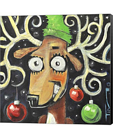 Reindeer Poster By Tim Nyberg Canvas Art